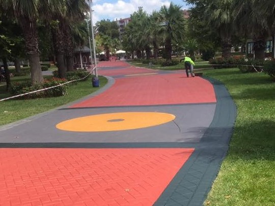 Decorative Asphalt Paints